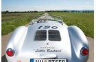 Porsche 550 Spyder, Heckansicht