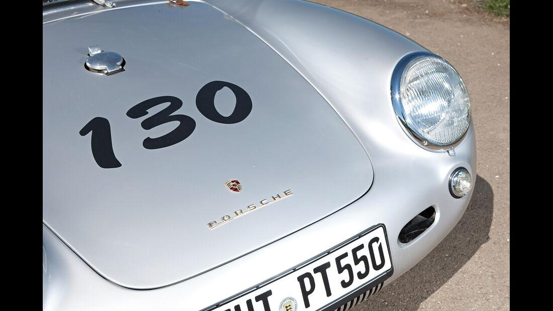 Porsche 550 Spyder, Motorhaube