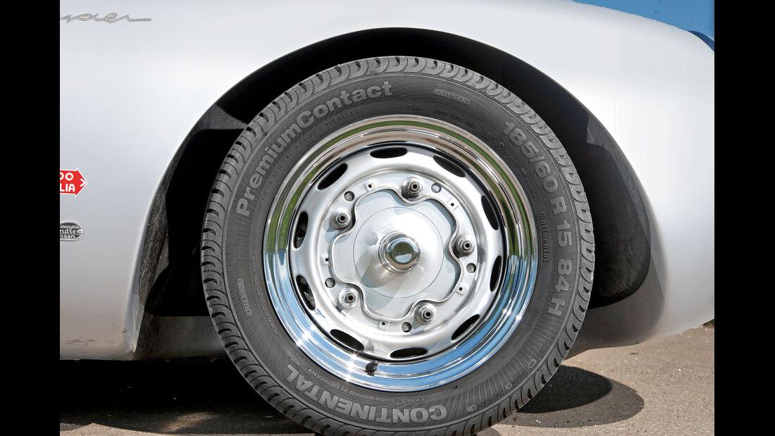 Porsche 550 Spyder, Rad, Felge