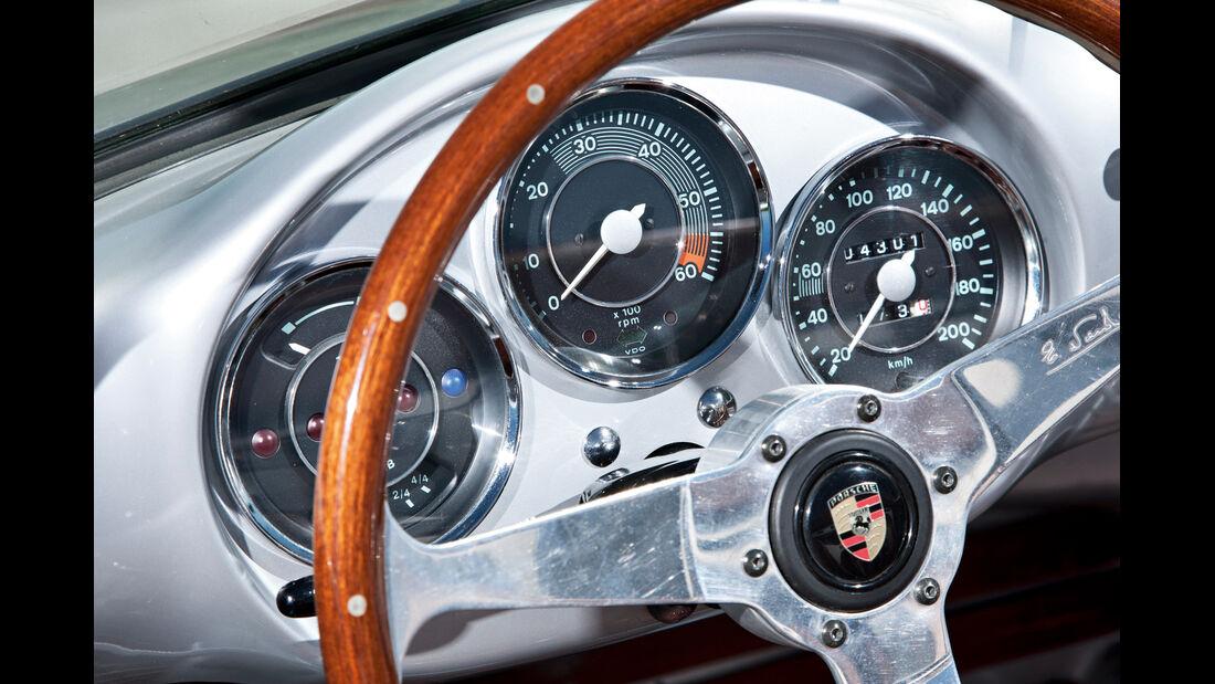 Porsche 550 Spyder, Rundinstrumente