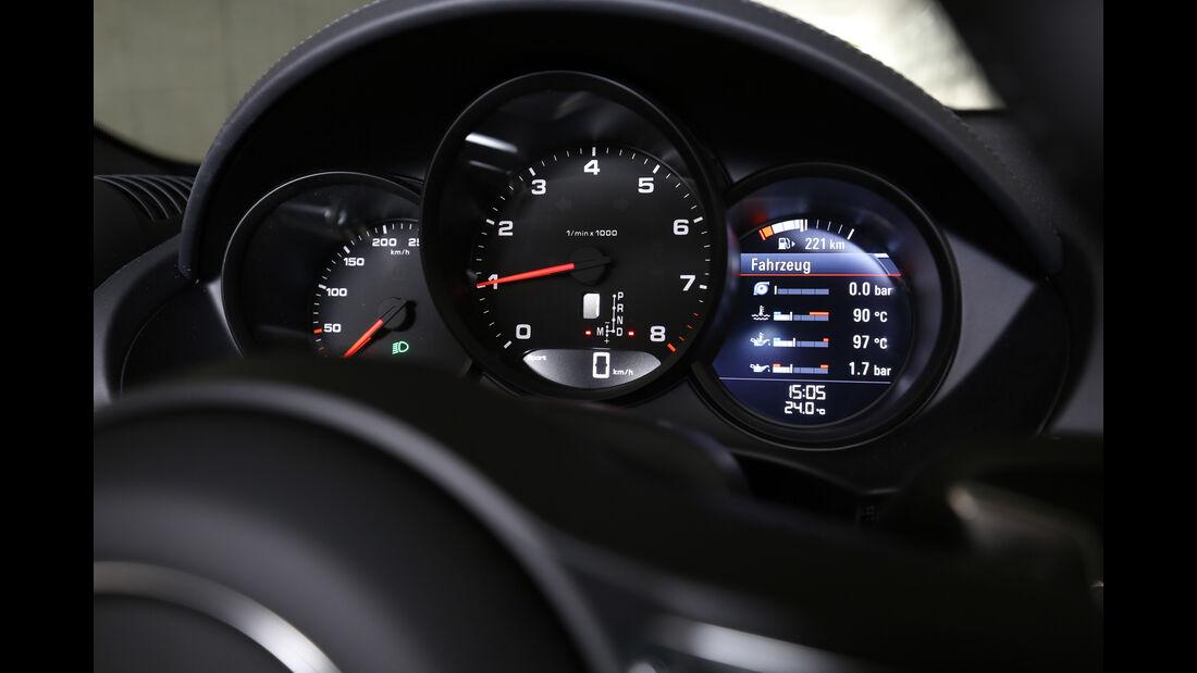 Porsche 718 Boxster, Rundinstrumente