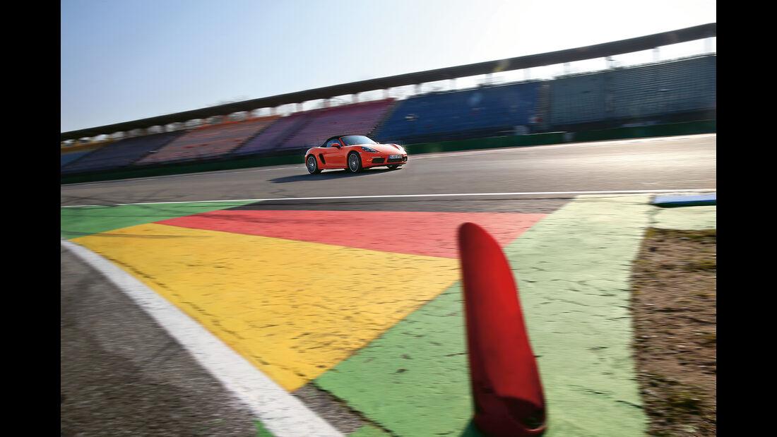 Porsche 718 Boxster S, Frontansicht