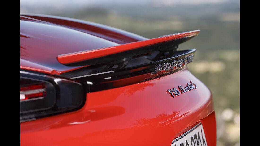 Porsche 718 Boxster S Heckspoiler