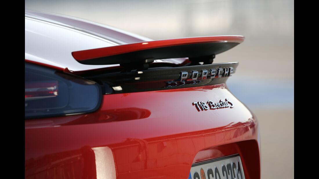 Porsche 718 Boxster S, Heckspoiler