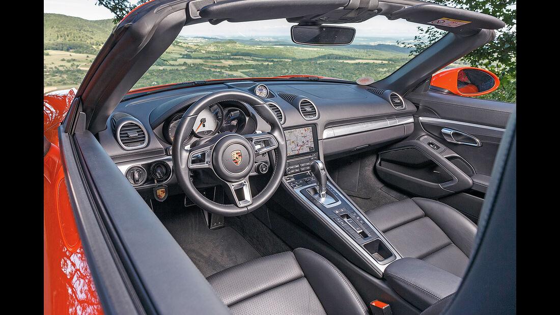 Porsche 718 Boxster S Interieur