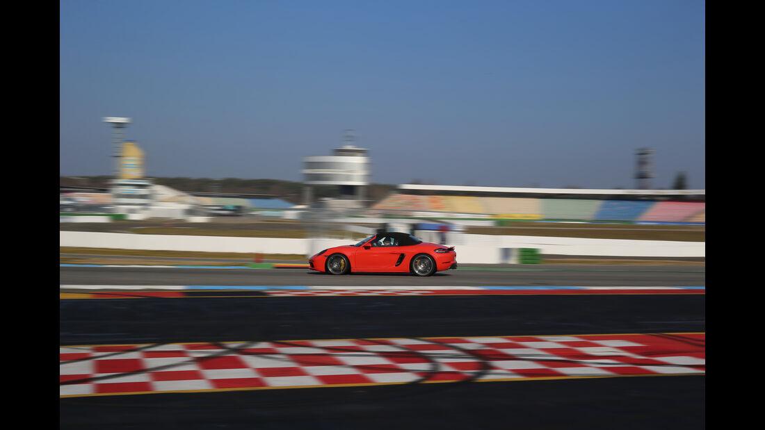 Porsche 718 Boxster S, Seitenansicht