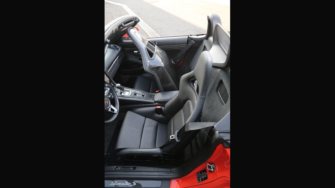 Porsche 718 Boxster S, Sitze