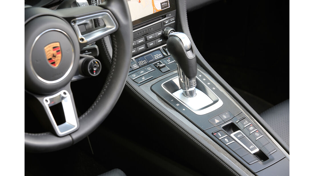 Porsche 718 Boxster, Schalthebel