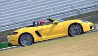 Porsche 718 Boxster, Seitenansicht