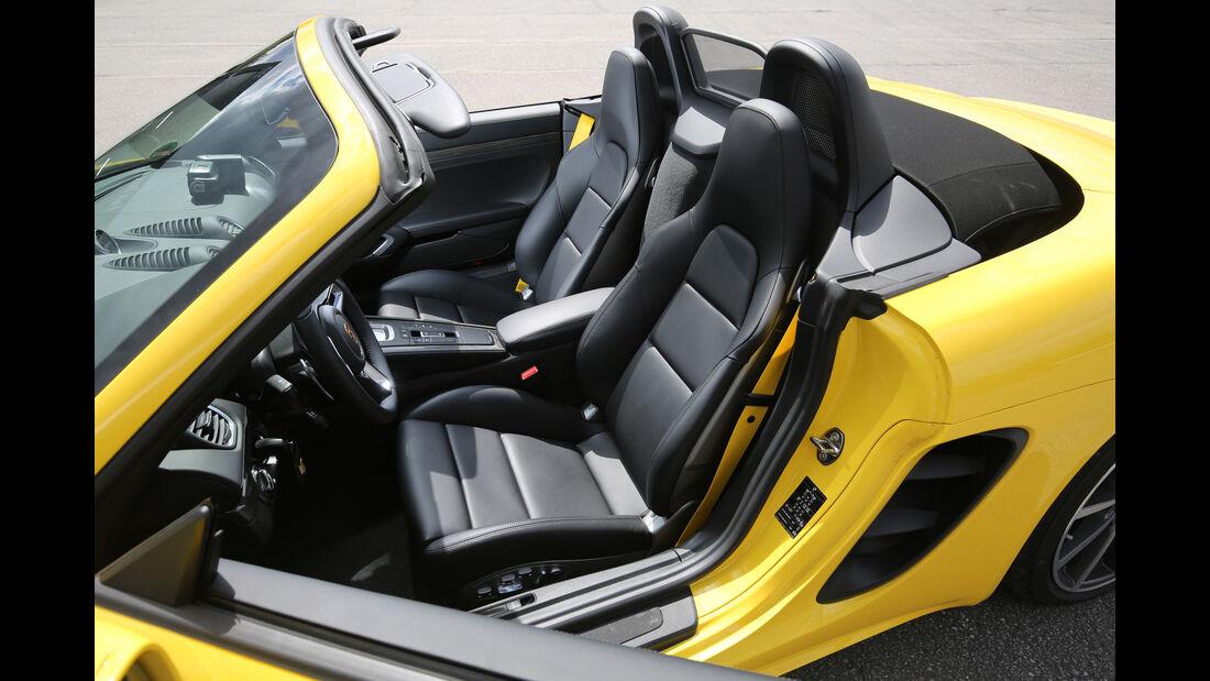 Porsche 718 Boxster, Sitze
