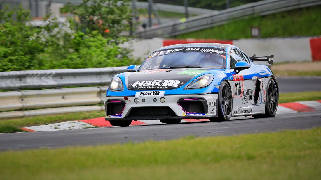 Porsche 718 Cayman CS 982 - Mühlner Motorsport SRL - Startnummer #310 - Klasse: Cup 3 - 24h-Rennen - Nürburgring - Nordschleife - 03. - 06. Juni 2021