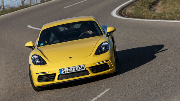 Porsche 718 Cayman, Frontansicht