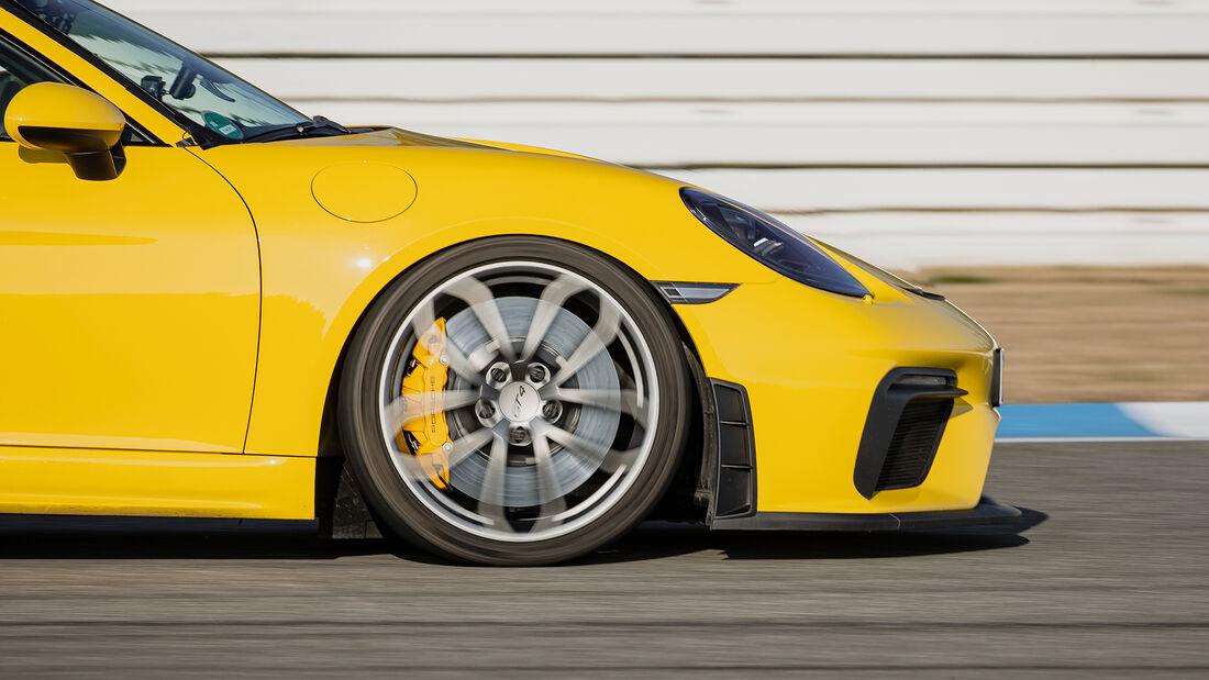 Porsche 718 Cayman GT4, Bremsentest