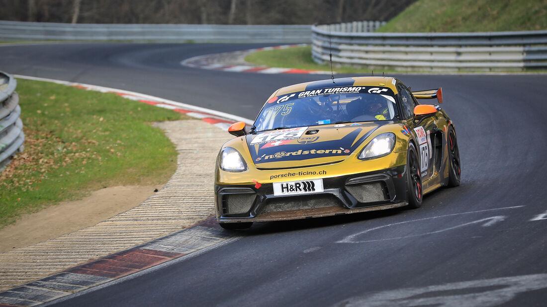 Porsche 718 Cayman GT4 CS - Startnummer #175 - Schmickler Performance powered by Ravenol - SP10 - NLS 2021 - Langstreckenmeisterschaft - Nürburgring - Nordschleife