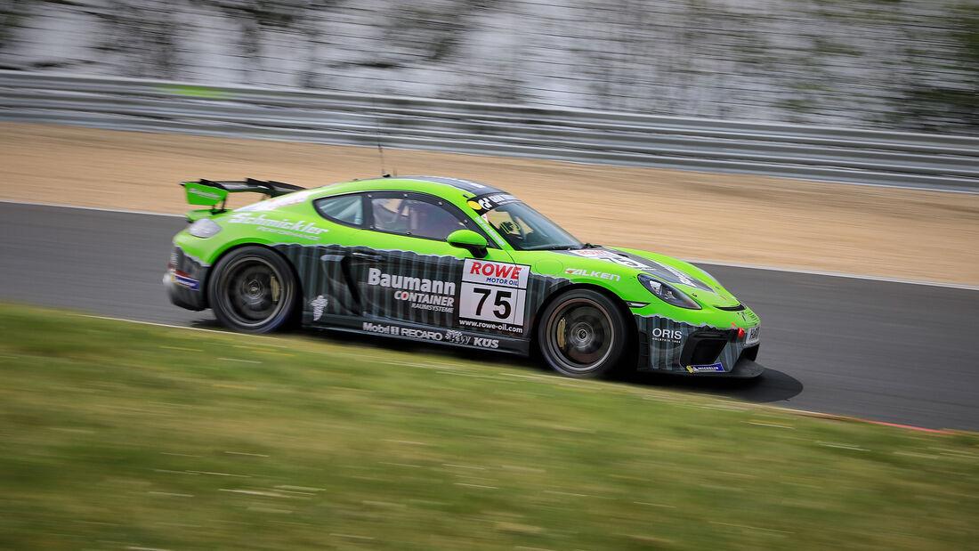 Porsche 718 Cayman GT4 CS - Startnummer #75 - chmickler Performance powered by Ravenol - Cup3 - NLS 2021 - Langstreckenmeisterschaft - Nürburgring - Nordschleife