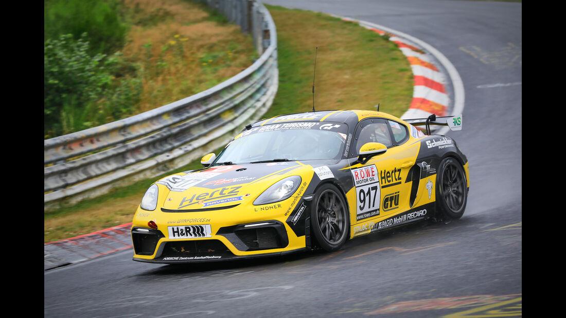 Porsche 718 Cayman GT4 CS - Startnummer #917 - Schmickler Performance powered by Rave - Cup 3 - VLN 2019 - Langstreckenmeisterschaft - Nürburgring - Nordschleife
