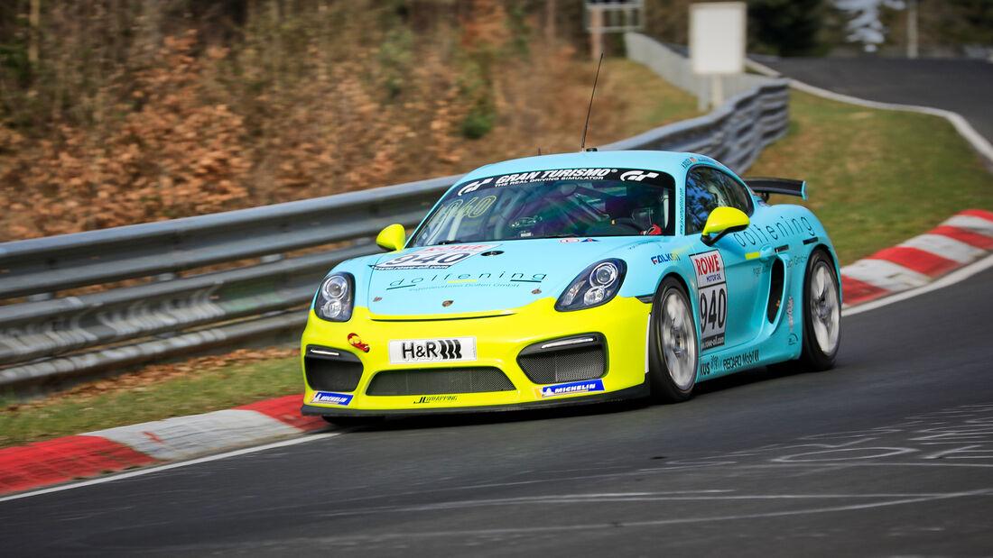 Porsche 718 Cayman GT4 CS - Startnummer #940 - Cup3 - NLS 2021 - Langstreckenmeisterschaft - Nürburgring - Nordschleife