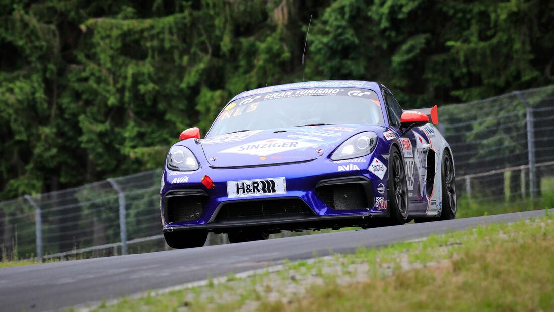 Porsche 718 Cayman GT4 CS - Startnummer #949 - Team AVIA Sorg Rennsport - Cup3 - NLS 2020 - Langstreckenmeisterschaft - Nürburgring - Nordschleife