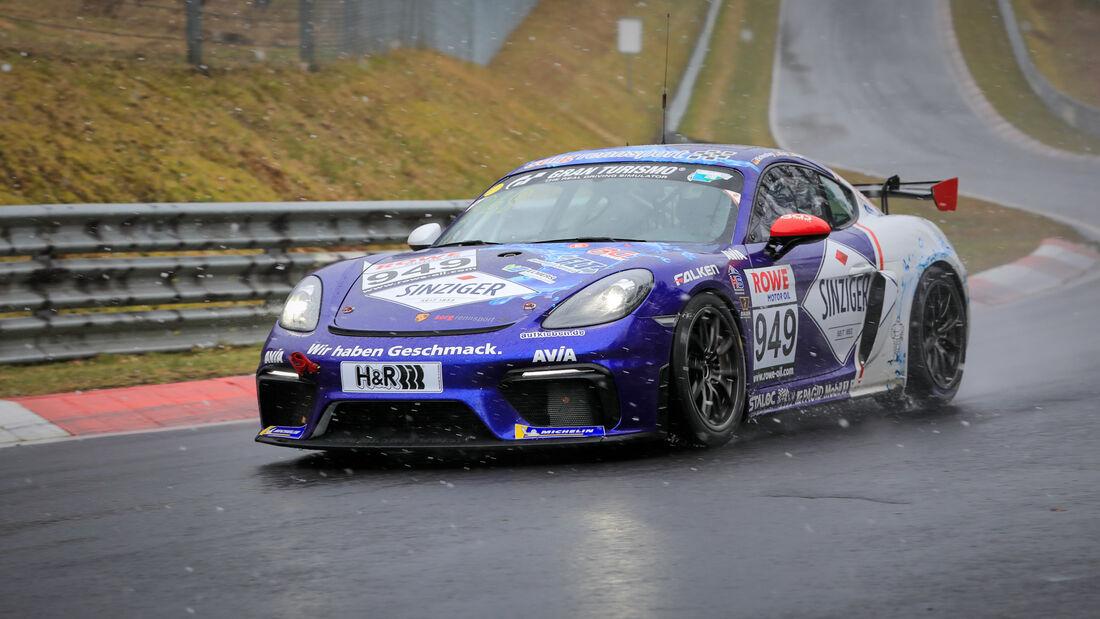 Porsche 718 Cayman GT4 CS - Startnummer #949 - Team AVIA Sorg Rennsport - Cup3 - NLS 2021 - Langstreckenmeisterschaft - Nürburgring - Nordschleife