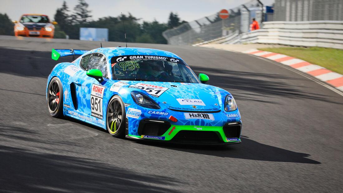 Porsche 718 Cayman GT4 CS - Startnummer #951 - ePS-Rennsport - Cup3 - NLS 2020 - Langstreckenmeisterschaft - Nürburgring - Nordschleife