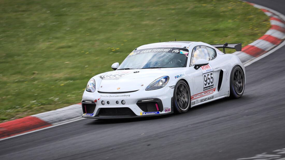 Porsche 718 Cayman GT4 CS - Startnummer #955 - Team Mathol Racing e.V - Cup3 - NLS 2021 - Langstreckenmeisterschaft - Nürburgring - Nordschleife