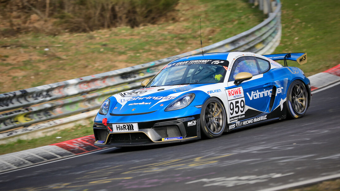 Porsche 718 Cayman GT4 CS - Startnummer #959 - W&S Motorsport GmbH - Cup3 - NLS 2021 - Langstreckenmeisterschaft - Nürburgring - Nordschleife