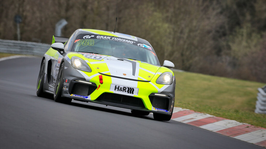 Porsche 718 Cayman GT4 CS - Startnummer #960 - W&S Motorsport GmbH - Cup3 - NLS 2021 - Langstreckenmeisterschaft - Nürburgring - Nordschleife