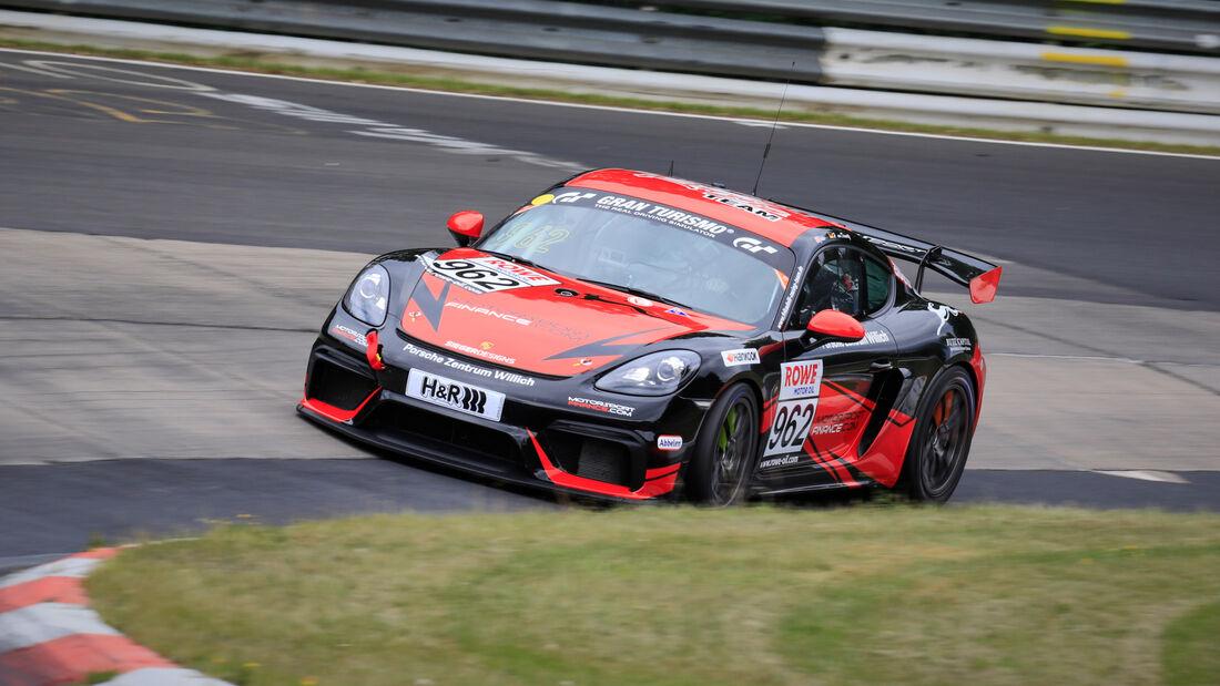Porsche 718 Cayman GT4 CS - Startnummer #962 - Frikadelli Racing Team - Cup3 - NLS 2020 - Langstreckenmeisterschaft - Nürburgring - Nordschleife