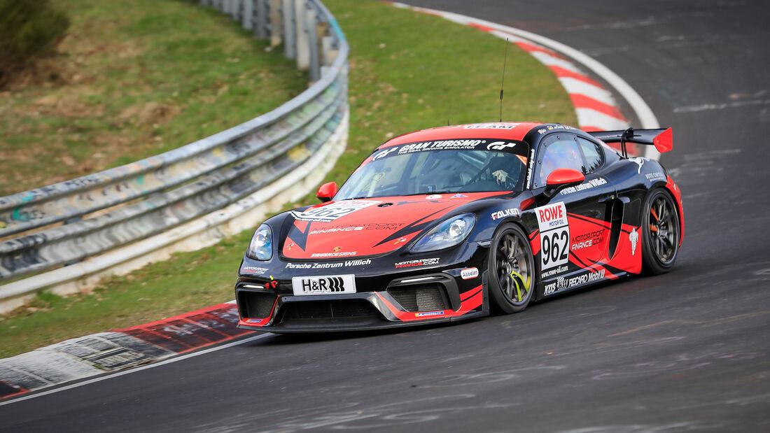 Porsche 718 Cayman GT4 CS - Startnummer #962 - Frikadelli Racing Team - Cup3 - NLS 2021 - Langstreckenmeisterschaft - Nürburgring - Nordschleife