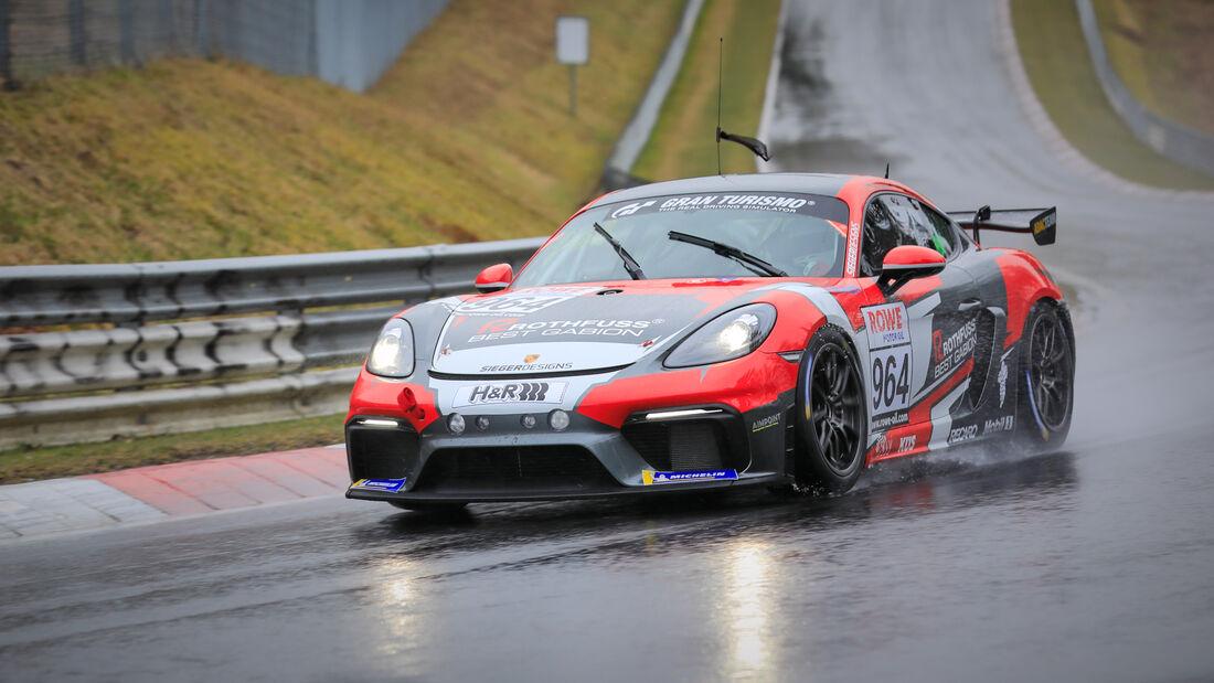 Porsche 718 Cayman GT4 CS - Startnummer #964 - Aimpoint Racing by Rothfuss Best Gabion - Cup3 - NLS 2021 - Langstreckenmeisterschaft - Nürburgring - Nordschleife