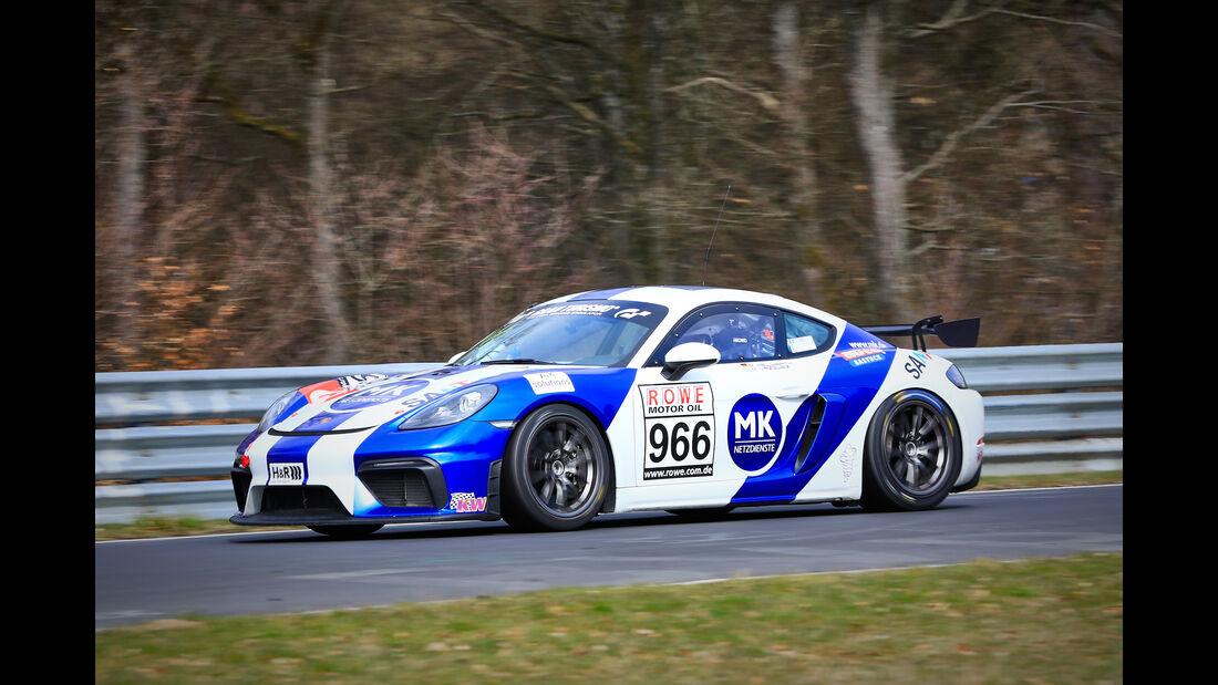 Porsche 718 Cayman GT4 CS - Startnummer #966 - Fanclub Mathol Racing e.V. - Cup 3 - VLN 2019 - Langstreckenmeisterschaft - Nürburgring - Nordschleife