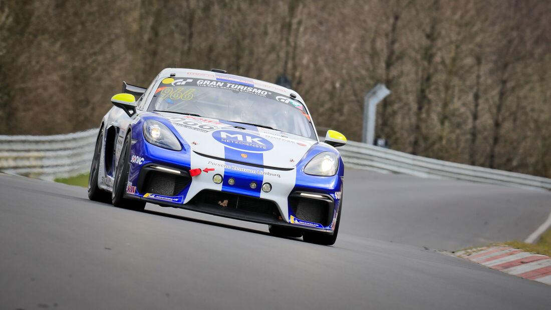 Porsche 718 Cayman GT4 CS - Startnummer #966 - NLS 2021 - Cup3 - Langstreckenmeisterschaft - Nürburgring - Nordschleife