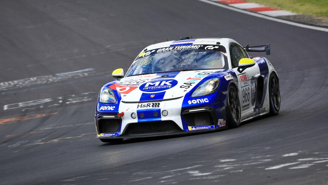 Porsche 718 Cayman GT4 CS - Startnummer #966 -  Team Mathol Racing e.V. - Cup 3 - NLS 2020 - Langstreckenmeisterschaft - Nürburgring - Nordschleife