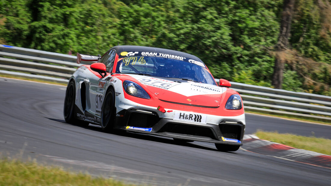 Porsche 718 Cayman GT4 CS - Startnummer #976 - FK Performance Motorsport - Cup3 - NLS 2020 - Langstreckenmeisterschaft - Nürburgring - Nordschleife