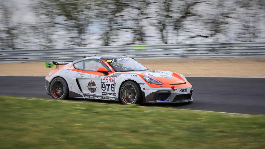 Porsche 718 Cayman GT4 CS - Startnummer #976 - FK Performance Motorsport - Cup3 - NLS 2021 - Langstreckenmeisterschaft - Nürburgring - Nordschleife