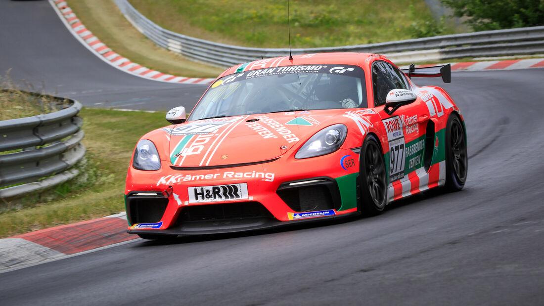 Porsche 718 Cayman GT4 CS - Startnummer #977 - Cup3 - NLS 2020 - Langstreckenmeisterschaft - Nürburgring - Nordschleife