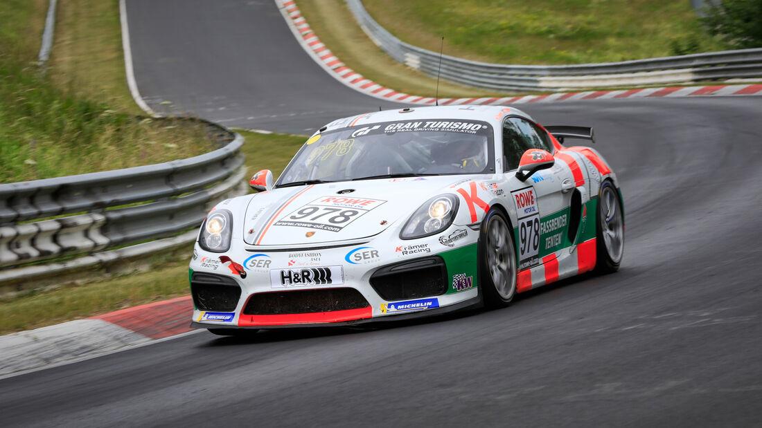 Porsche 718 Cayman GT4 CS - Startnummer #978 - Cup3 - NLS 2020 - Langstreckenmeisterschaft - Nürburgring - Nordschleife