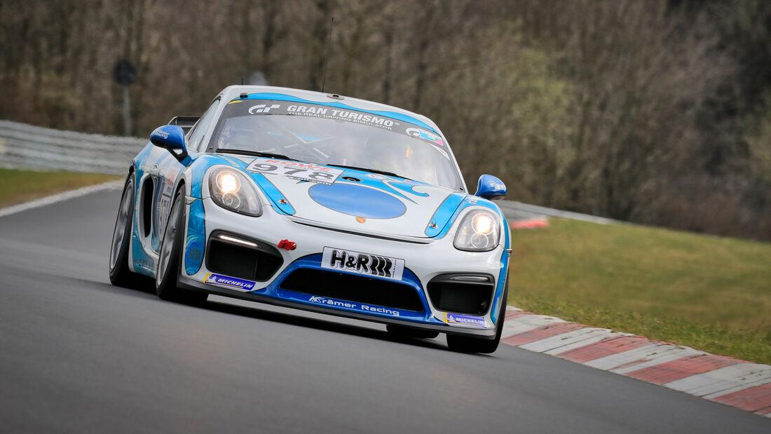 Porsche 718 Cayman GT4 CS- Startnummer #978 - KKrämer Racing - Cup3 - NLS 2021 - Langstreckenmeisterschaft - Nürburgring - Nordschleife