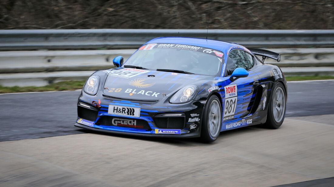 Porsche 718 Cayman GT4 CS - Startnummer #981 - G-Tech Competition - Cup3 - NLS 2021 - Langstreckenmeisterschaft - Nürburgring - Nordschleife