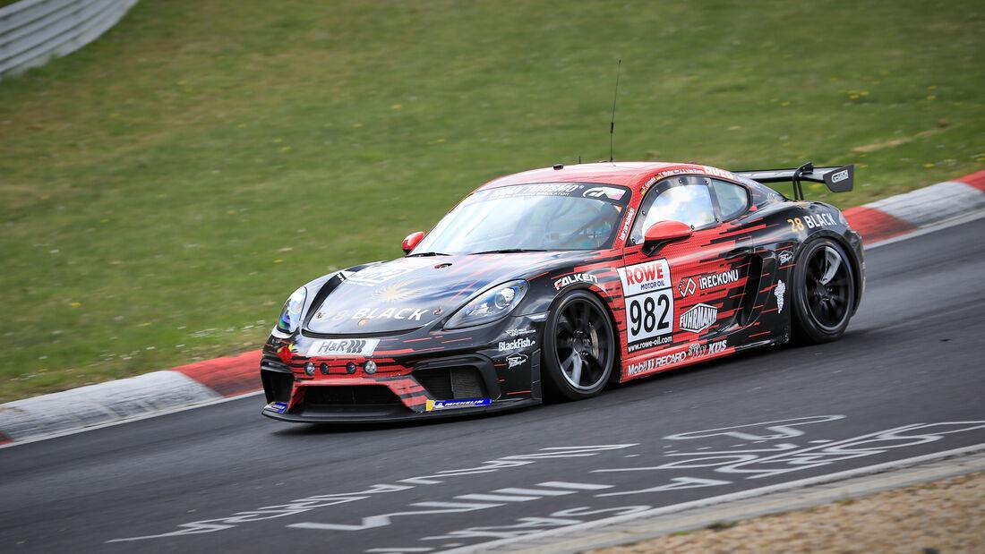 Porsche 718 Cayman GT4 CS - Startnummer #982 - G-Tech Competition - Cup3 - NLS 2021 - Langstreckenmeisterschaft - Nürburgring - Nordschleife