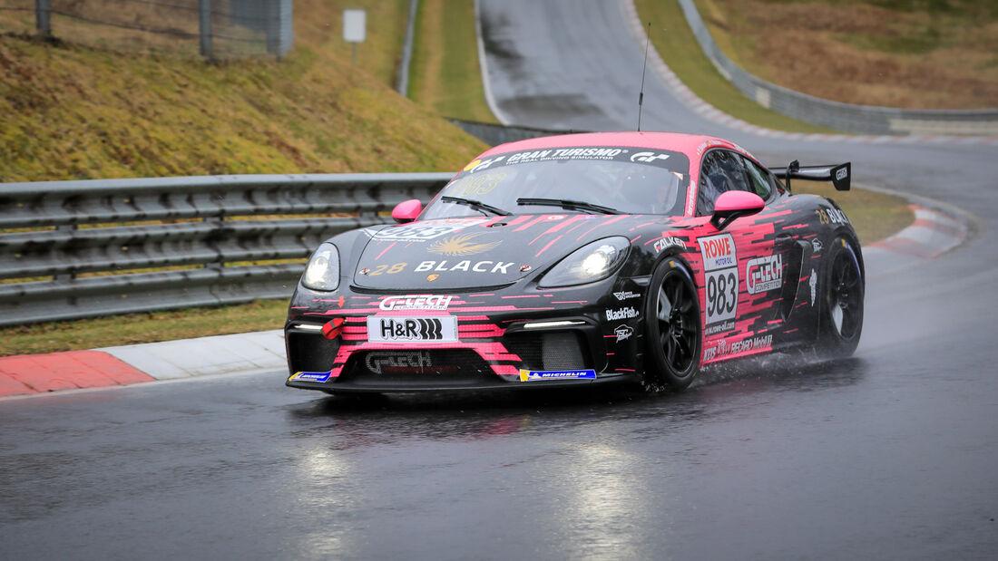 Porsche 718 Cayman GT4 CS - Startnummer #983 - G-Tech Competition - Cup3 - NLS 2021 - Langstreckenmeisterschaft - Nürburgring - Nordschleife