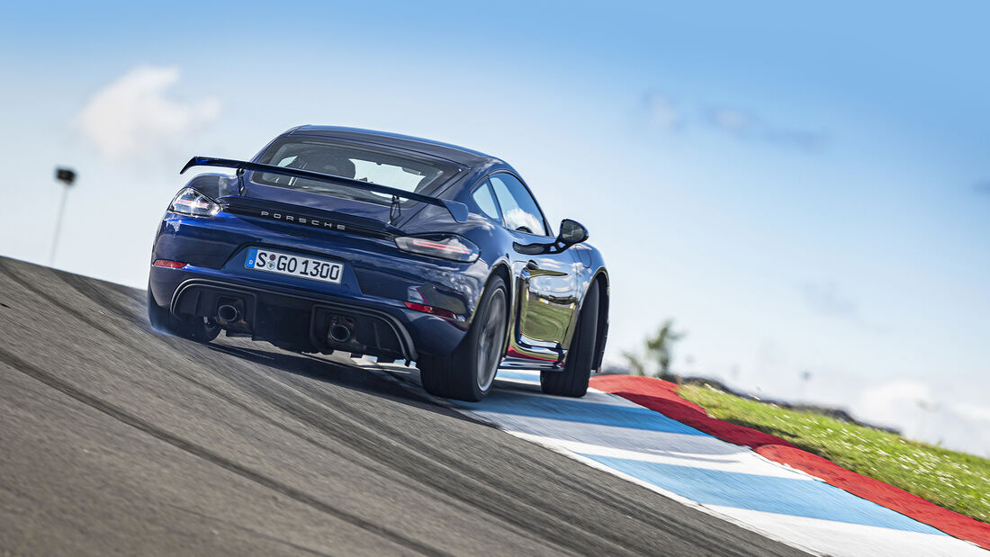 Porsche 718 Cayman GT4, Exterieur
