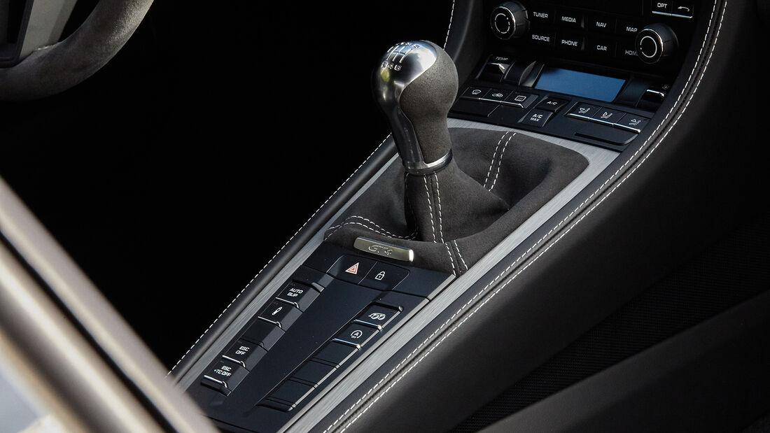 Porsche 718 Cayman GT4, Interieur