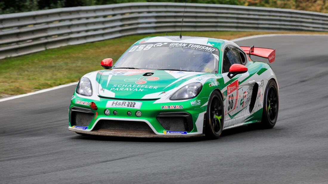 Porsche 718 Cayman GT4 MR - W&S Motorsport GmbH - Startnummer #58 - Klasse: SP7 - 24h-Rennen - Nürburgring - Nordschleife - 24. bis 27. September 2020