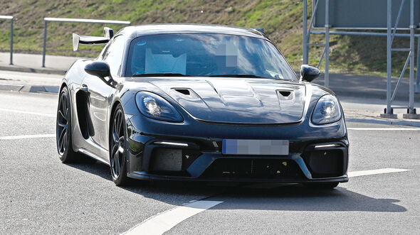 Porsche 718 Cayman GT4 RS Erlkönig