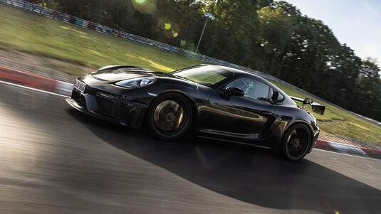 Porsche 718 Cayman GT4 RS Prototyp
