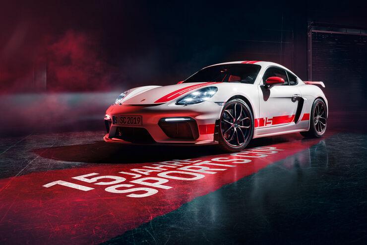 Porsche 718 Cayman GT4 Sports Cup Edition: Nur für kurze Zeit erhältlich