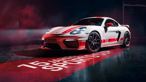 Porsche 718 Cayman GT4 Sports Cup Edition