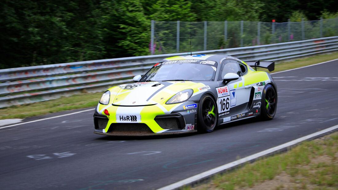 Porsche 718 Cayman GT4 - Startnummer #166 - W&S Motorsport GmbH - SP10 - NLS 2020 - Langstreckenmeisterschaft - Nürburgring - Nordschleife