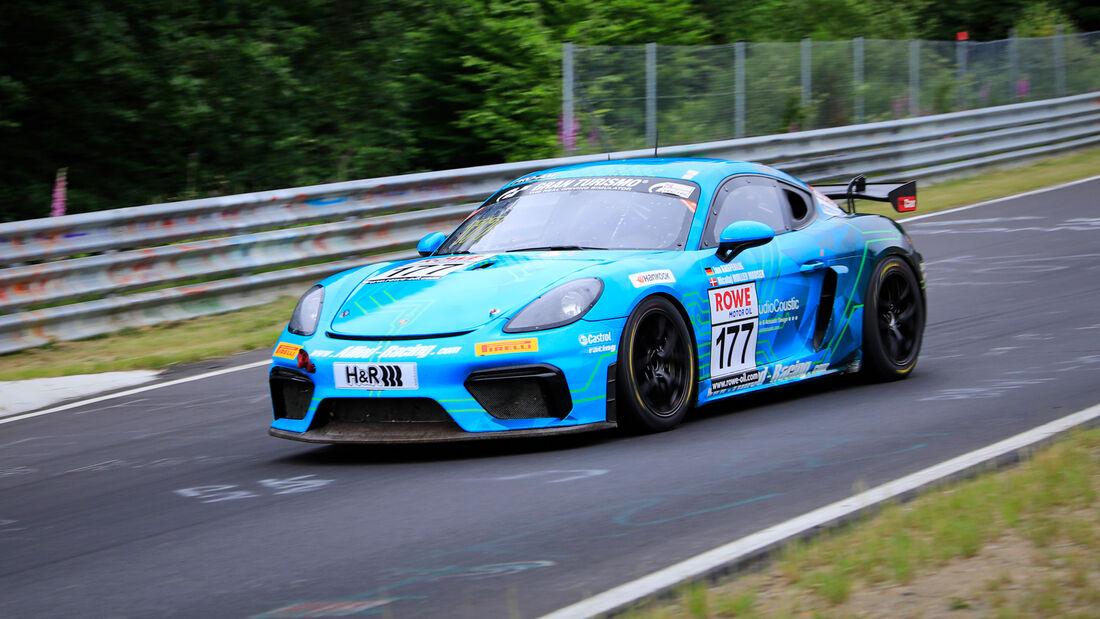 Porsche 718 Cayman GT4 - Startnummer #177 - Allied-Racing GmbH - SP10 - NLS 2020 - Langstreckenmeisterschaft - Nürburgring - Nordschleife